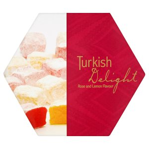 Turkish delight rose and lemon flavour 250g for Divan rose turkish delight