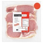 Chef's Larder Premium Danish Smoked Thick Cut Rindless Prime Back Bacon Per kg