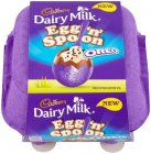 Cadbury Oreo Egg 'n' Spoon Chocolate 136g