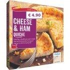 Iceland Frozen Cheese & Ham Quiche 380g