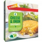 Iceland 4 Cheese & Onion Crispbakes 340g