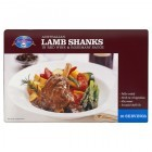Australian Lamb Shanks in Red Wine & Rosemary Sauce 450g serving