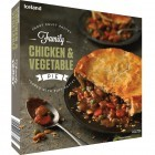 Iceland Family Chicken & Vegetable Pie 800g