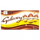 GALAXY® Chocolate Caramel Eggs X3 pack