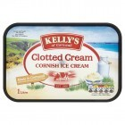 Kelly's of Cornwall Clotted Cream Cornish Ice Cream 1 Litre
