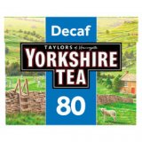 Taylors of Harrogate Yorkshire Tea 80pk Decaf Tea