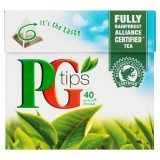 PG Tips 40 Pyramid Tea Bags 125g