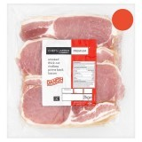 Premium Danish Smoked Thick Cut Rindless Prime Back Bacon 2.25 kg
