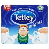 Tetley Original 80 Tea Bags 250g