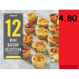 12 Mini Quiche Selection 250g