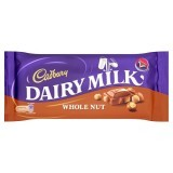 Cadbury Dairy Milk Whole Nut 120g