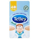 Tetley Decaf 40 Tea Bags 125g