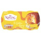 Mr. Kipling Exceedingly Good Golden Syrup Sponge Puddings 2 x 95g