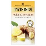 Twinings Revive & Revitalise Lemon & Ginger 20 Teabags 30g