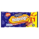 McVitie's Hobnobs 5 Slices Topped with Milk Chocolate 137.9g