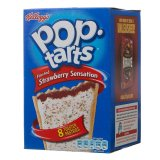 Kellogg's Pop Tart's Frosted Strawberry Sensation 8X50g