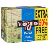Taylors of Harrogate Yorkshire Tea 120pk Decaf Tea