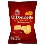 O'Donnells of Tipperary Hand Cooked Crisps Mature Irish Cheese and Red Onion Flavour 50g