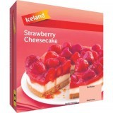 Iceland Strawberry Cheesecake 540g