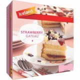 Iceland Strawberry Gateau 600g