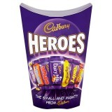 Cadbury Heroes Chocolate Carton 185g
