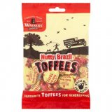 Walkers' Nonsuch Nutty Brazil Toffees, bag 150G
