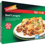 Iceland Meal For One Beef Lasagne 500g