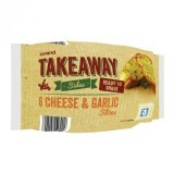 Iceland Takeaway 6 Cheese & Garlic Slices 200g