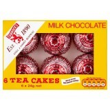 Tunnocks Milk Chocolate Tea Cakes 6 x 24g