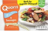 Quorn Low Fat 6 Sausages 300g