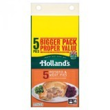 Holland's 5 Potato & Meat Pies