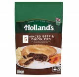 Holland's 5 Minced Beef & Onion Pies