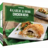 Iceland 4 Garlic & Herb Chicken Kievs 500g