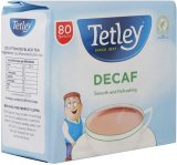 Tetley Decaf 80 Tea Bags 125g
