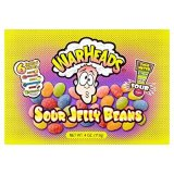 Warheads Sour Jelly Beans Assorted Flavours, 113 g