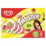 Twister Mini Pineapple, Strawberry, Lemon & Lime Flavour Ice Cream Lolly 8 x 50ml
