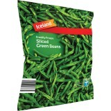Iceland Freshly Frozen Sliced Green Beans 900g