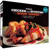 Iceland Chicken and Stuffing Roast Dinner 450g