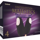 Iceland Limited Edition Liquorice & Blackcurrant Majestics 4 Pack 280g