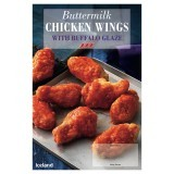 Iceland Buttermilk Chicken Wings with Buffalo Glaze 500g