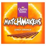 QUALITY STREET Matchmakers Zingy Orange Chocolates 130g