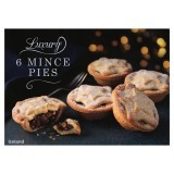 Iceland 6 Award Winning Luxury Mince Pies / Fresh Frozen.