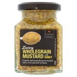 Lion Luxury Wholegrain Mustard with Honey 175g
