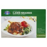 Australian Lamb Shanks with a Hint of Mint 450g serving