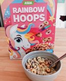 Asda Rainbow Fruit Hoops 350g