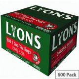 Lyons Tea Bags - Original Blend Pack Of 600
