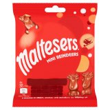 Maltesers Reindeer Chocolate Christmas Mini Treats Bag 59g