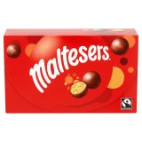 Maltesers Fairtrade Chocolate Box 100g-U.K Stock