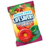 LifeSavers Sugar Free 5 Flavor Candy - 2.75 oz. bag