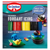 Dr. Oetker Ready to Roll Fondant Icing Various Colours 500g